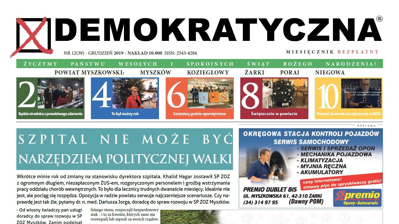 Demokratyczna Grudzień 2019
