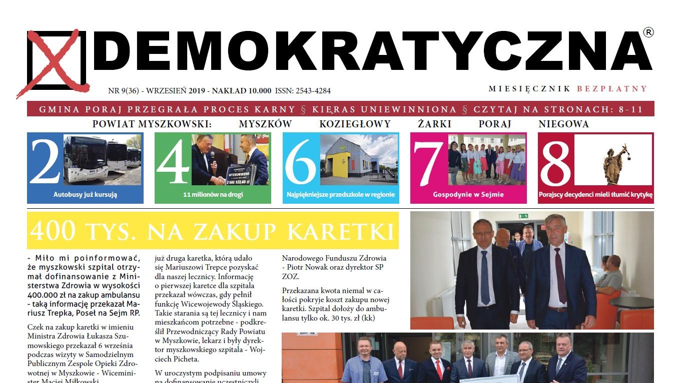 Demokratyczna Wrzesień 2019