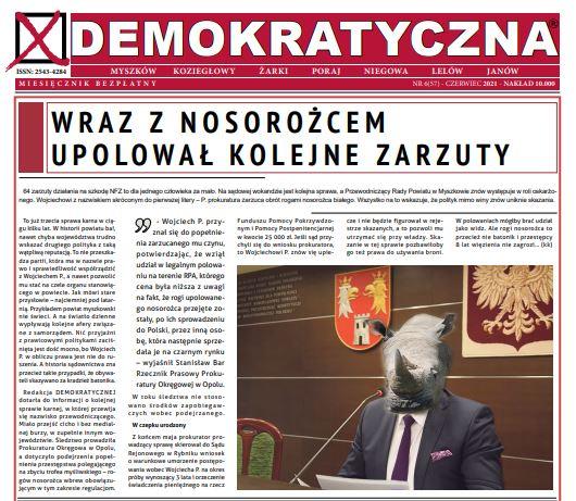 Demokratyczna Czerwiec 2021