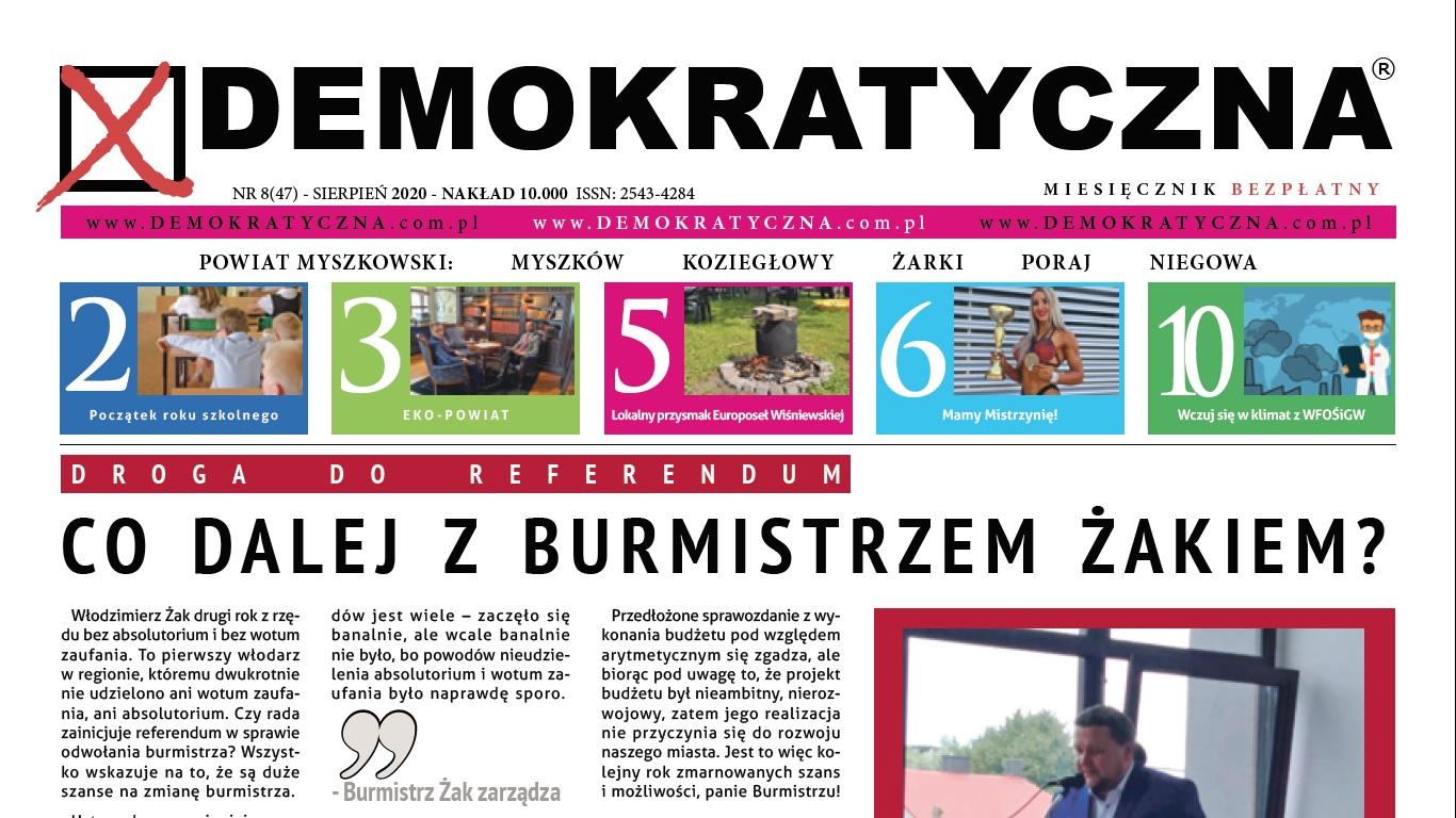 Demokratyczna Sierpień 2020
